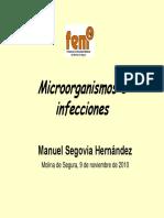 2010 11 09 Microorganismoseinfecciones Segovia