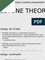 CP&SM - Milestone Theories