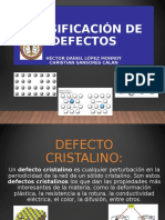 Defectos de los materiales