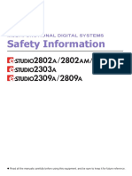 Safety Information En