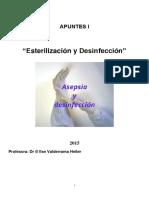 Apuntes Esterilizacion y Desinfeccion