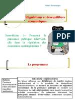 Theme 5.1- ourquoi la puissance publique intervient-elle dans la régulation des économies contemporaines ?