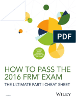DA3812 How to Pass the FRM Exam eBook