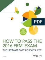 DA3812 How to Pass the FRM Exam eBook