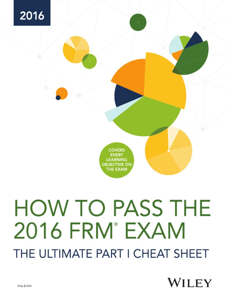 wiley frm exam review study guide 2016 part ii complete set