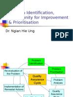 Problem Identification & Ptioritisation