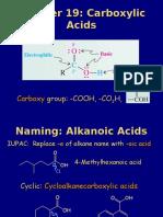 9. Carboxylic Acids