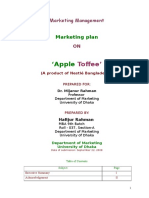 Marketing Plan on Apple