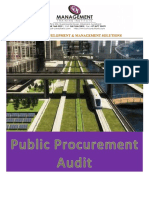 Public Procurement Audit