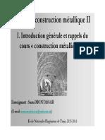 Cours CM 2 Chapitre 1 Introduction Générale 15 16