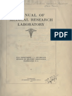 (1918) Manual of Medical Research Laboratory