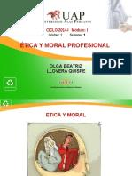 SEMANA 1 Ética y Moral Prof.