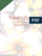Vanity Fair - Notes