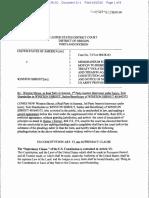 31.1 - Shrout Memorandum Motion to Dismiss Ca33f2b2c535690508dbe57358869670
