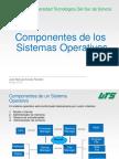 Componentes de los Sistemas Operativos