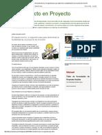 De Proyecto en Proyecto_ El Estudio Técnico, El Siguiente Paso Para Determinar La Factibilidad de Un Proyecto de Inversión