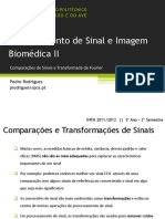 Comparação de Sinais e Transformada de Fourier_Processamento de Sinais