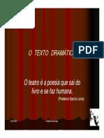 7 Lp Texto Dramatico Teatro