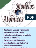 PPT MÓDELOS ATÓMICOS
