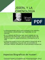 Hussrel y La Fenomenología