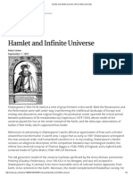 Hamlet and Infinite Universe _ PSU