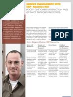 SAP Business One Brochure - Service Management