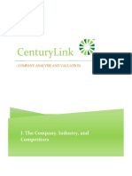 CenturyLink Valuation Project