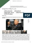 Biografia Dong Yu Lan – Instituto Vida Para Todos