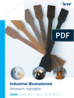 Industrial Biomaterials Research Highlights 2009