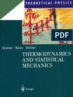 Thermodynamics and Statistical Mechanics - Walter Greiner