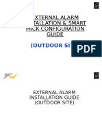 External Alarm Installation & Smart Pack Configuration Guide Outdoor (v 1.0)