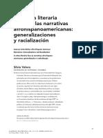 "Silvia Valero, ""La crítica literaria frente a las narrativas afrohispanoamericanas"