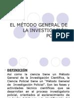 9. El Metodo General de La Investigación Policial