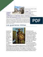 Historia de Los Hititas