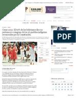 LA Razón_Censo 2012. El 69_ de Los Bolivianos Dice No Pertenecer a Ninguno de Los 36 Pueblos Indígenas de La NCPE