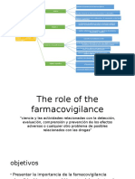 The Role of the Farmacovigilance