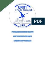 UPP PROGRAMMA ELETTORALE