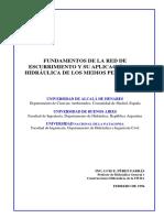 HIDROGEOLOGIA 09 - FUNDAMENTOS DE LA RED DE ESCURRIMIENTO