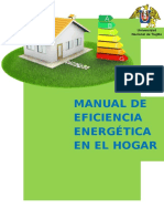 Manual de Eficiencia Energética en El Hogar