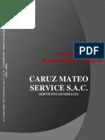 Brochure Caruz Mateo Service 2015 1