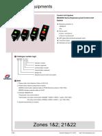 BZA8050 Control Stations