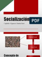 Clase Socializacion MArtin Baro