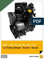 K9K – dCi 75, dCi 90, dCi 110 1.5 Turbo Diesel