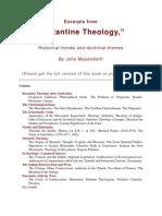 Byzantine Theology - Fr. J. Meyendorff