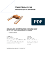Porotherm 28422 Porotherm Grinzi Precomprimate Pentru Plansee Ro