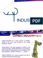 Capmac Industry - Presentation