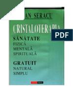 Dan Seracu - Cristaloterapia