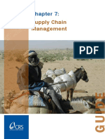 Institutional Strengthening 7 Supply Chain Management