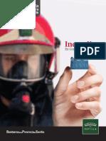 Cuaderno Guía con Claves para prevenir y/o actuar ante Incendios en Centros Residenciales