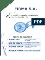 Audit Control Intern CosoI,II,III